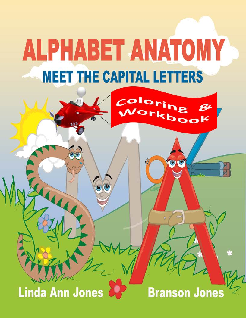 Workbooks anatomy coloring workbook : Alphabet AnatomyColoring & Workbooks - Alphabet Anatomy