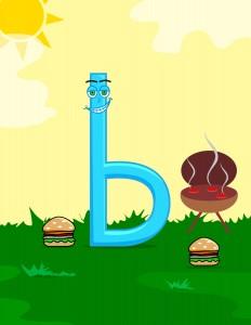 Letter b-01